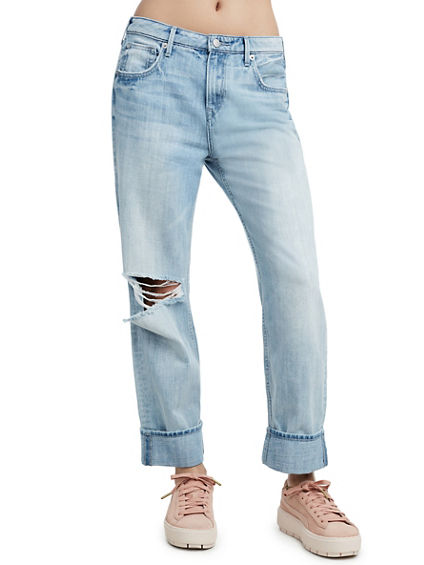 WOMENS RELAXED STRAIGHT JEAN