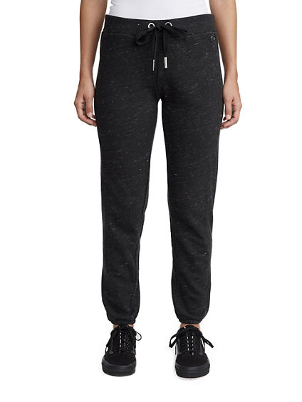 WOMENS HEATHERED SWEATPANT