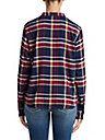 WOMENS PLAID HENLEY SHIRT