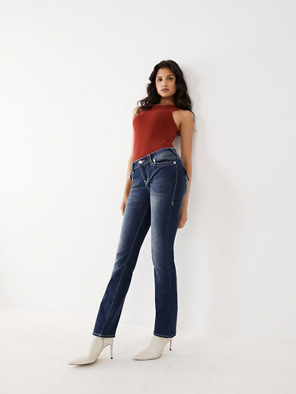WOMENS SLIM STRAIGHT FIT JEAN