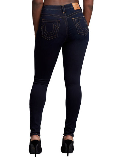 WOMENS HIGH RISE HALLE SUPER SKINNY JEAN