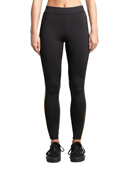 WOMENS METALLIC PIPE LEGGING