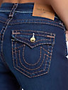 WOMENS SUPER T JENNIE CURVY SKINNY JEAN W/ FLAP