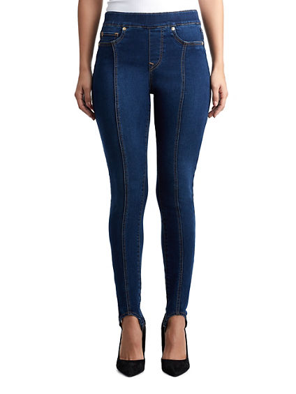 WOMENS HIGH RISE STIRRUP JEAN