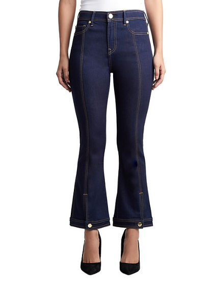 NIKKI FLARE HIGH RISE CROP JEAN