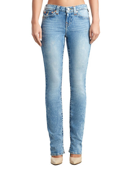 WOMENS BILLIE STRAIGHT JEAN W/ FLAP