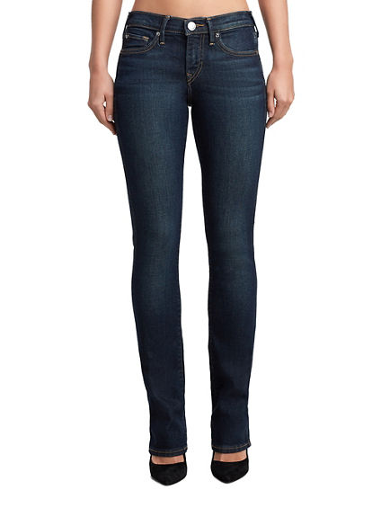 WOMENS DOUBLE SEAM BILLIE STRAIGHT JEAN