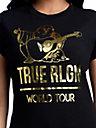 BUDDHA WORLD TOUR FOIL TEE