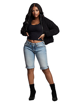 JENNIE BIG T KNEE SHORT