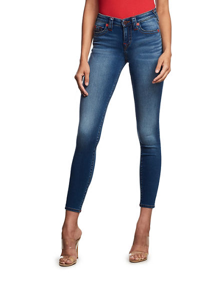 WOMENS TR X MANCHESTER UNITED HALLE SUPER SKINNY JEAN