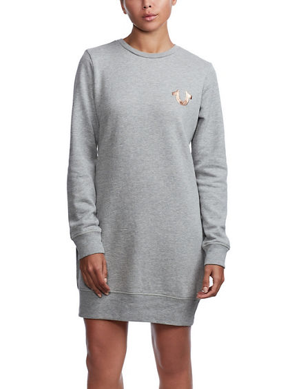 BUDDHA BRAND SWEATSHIRT DRESS