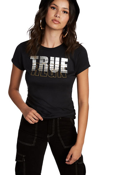 TRUE CROSS BACK TEE