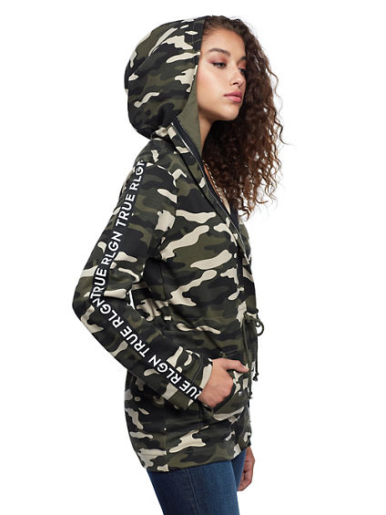 CAMO FUNNEL JACKET