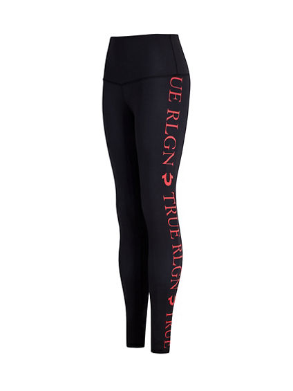 BODIED HIGH WAISTED SPORT LOGO LEGGING
