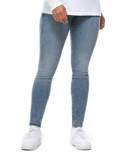 JENNIE EMBROIDERED BUDDHA JEAN