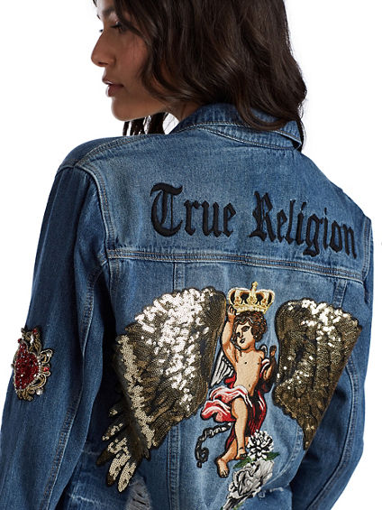 PATCH TRUCKER JACKET