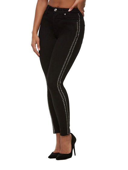 CAIA ULTRA HIGH RISE ANKLE JEAN