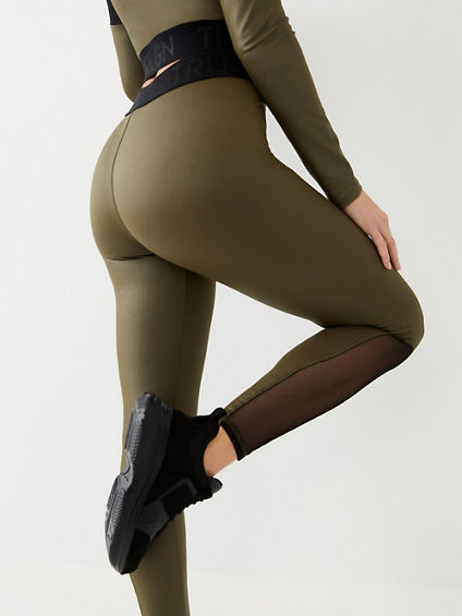 PERFORMANCE MESH LEGGING