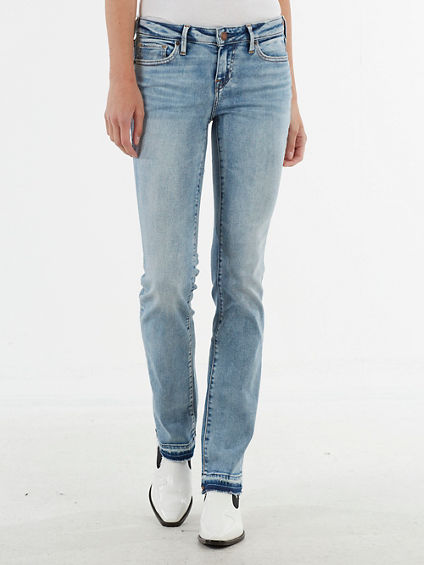 BILLIE RELEASED HEM STRAIGHT JEAN