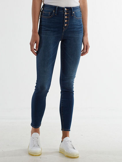 CAIA EXPOSED BUTTON JEAN
