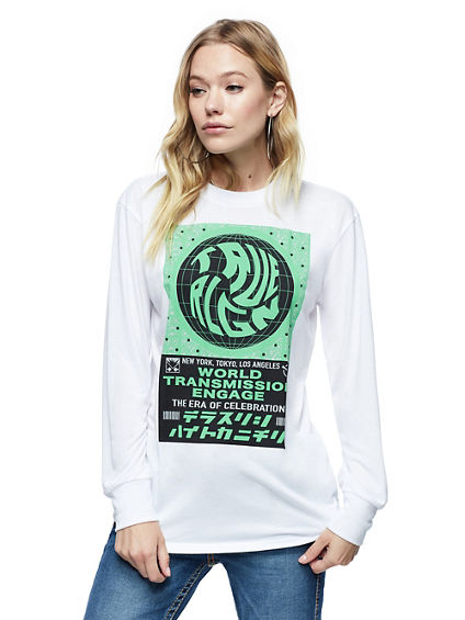 LONG SLEEVE GRAPHIC SHIRT