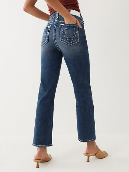 JENNIE BIG T STRAIGHT JEAN