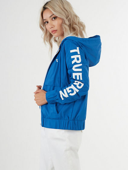 NYLON LOGO JACKET