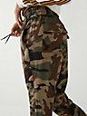 CAMO ROLLED JOGGER