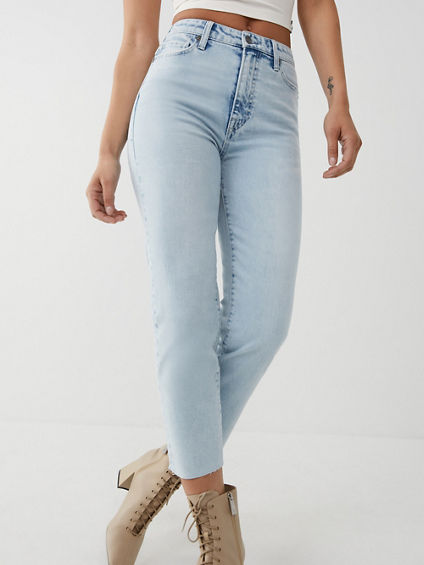 STARR HIGH RISE STRAIGHT JEAN