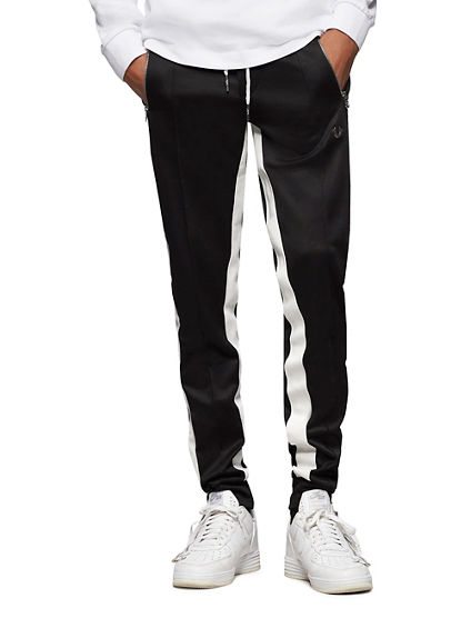 CONTRAST STRIPE TRACK PANT