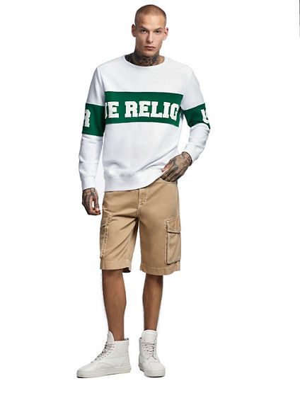 MENS PULLOVER RUGBY SWEATSHIRT