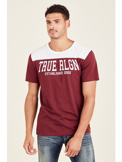 TR FOOTBALL MENS CREW NECK TEE