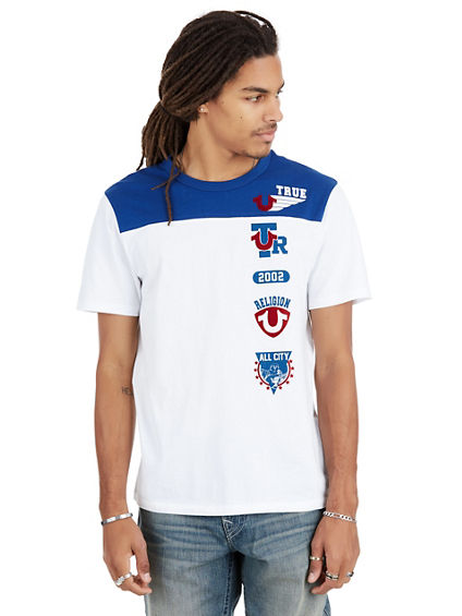 ALL CITY PATCH CREW NECK MENS TEE