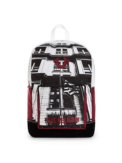 MENS FLAG BACKPACK