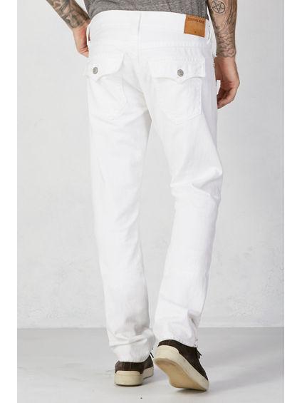 Optic White Ricky - Men's Straight Jeans - True Religion