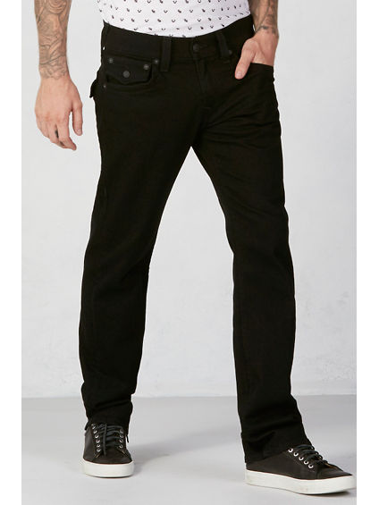 RICKY STRAIGHT 32 INSEAM MENS BLACK JEAN