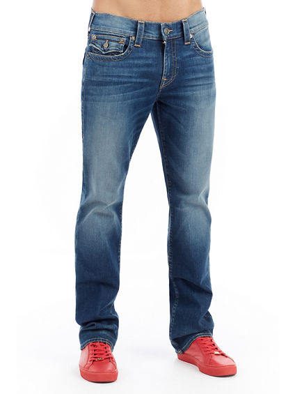 MENS THERMAL RICKY STRAIGHT JEAN W/ FLAP