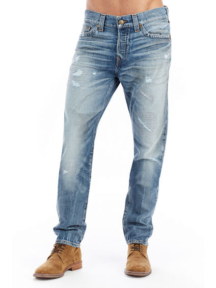 MENS LOGAN SLOUCHY TAPERED JEAN