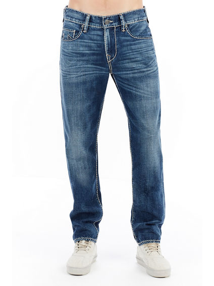 MENS CABLE STITCH GENO SLIM JEAN