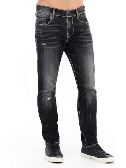 MENS CABLE STITCH ROCCO SKINNY JEAN