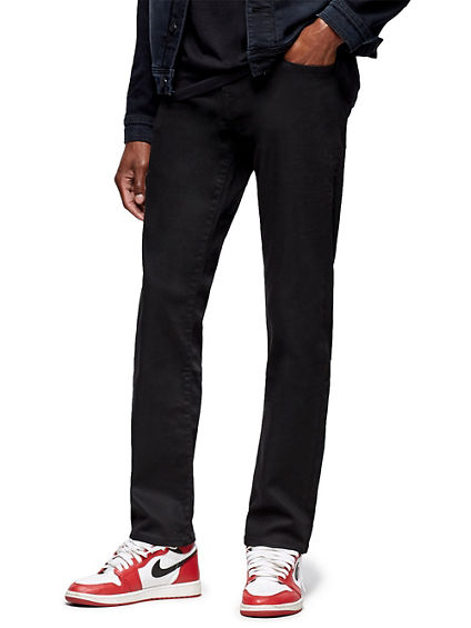 GENO SLIM BLACKOUT JEAN 32 INSEAM