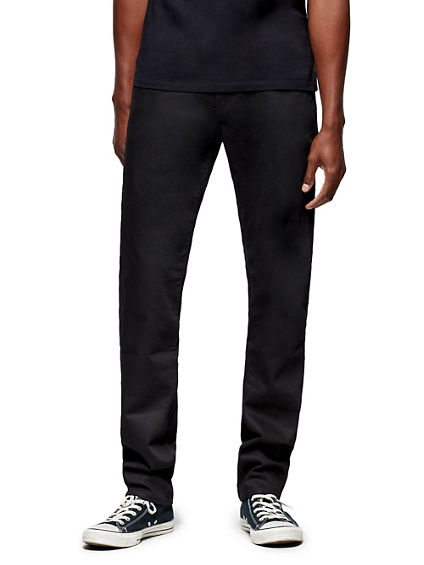 GENO SLIM BLACKOUT JEAN 34 INSEAM