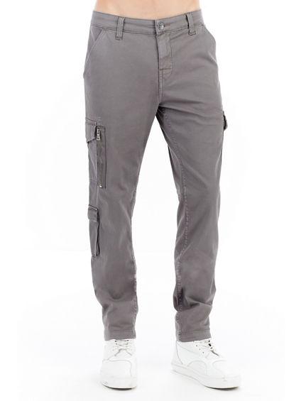 MENS SATEEN MODERN UTILITY CARGO PANT