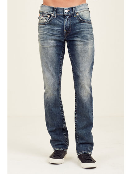 STRAIGHT WITH FLAP MENS JEAN