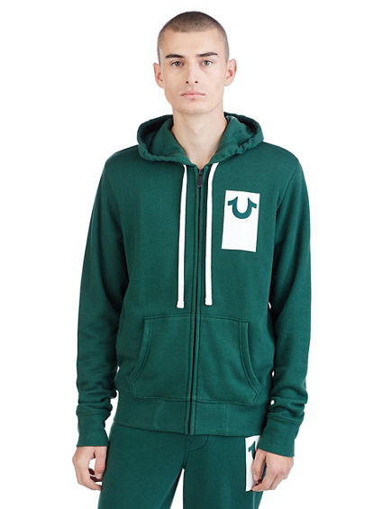DEBOSS ACTIVE ZIP UP MENS HOODIE