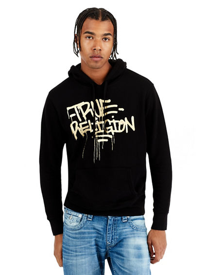 ACTIVE GRAFITTI PULLOVER MENS HOODIE