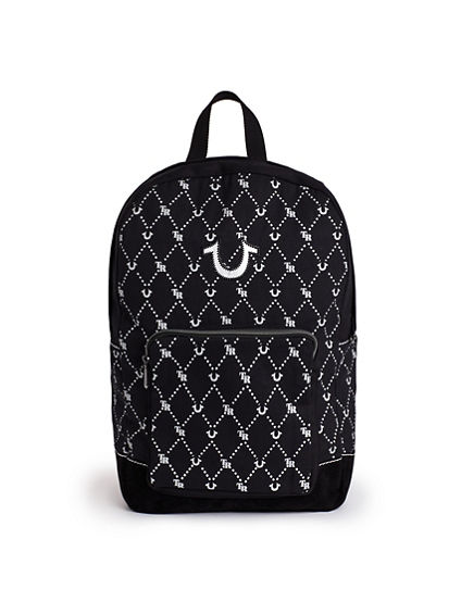 MENS MONOGRAM BACKPACK