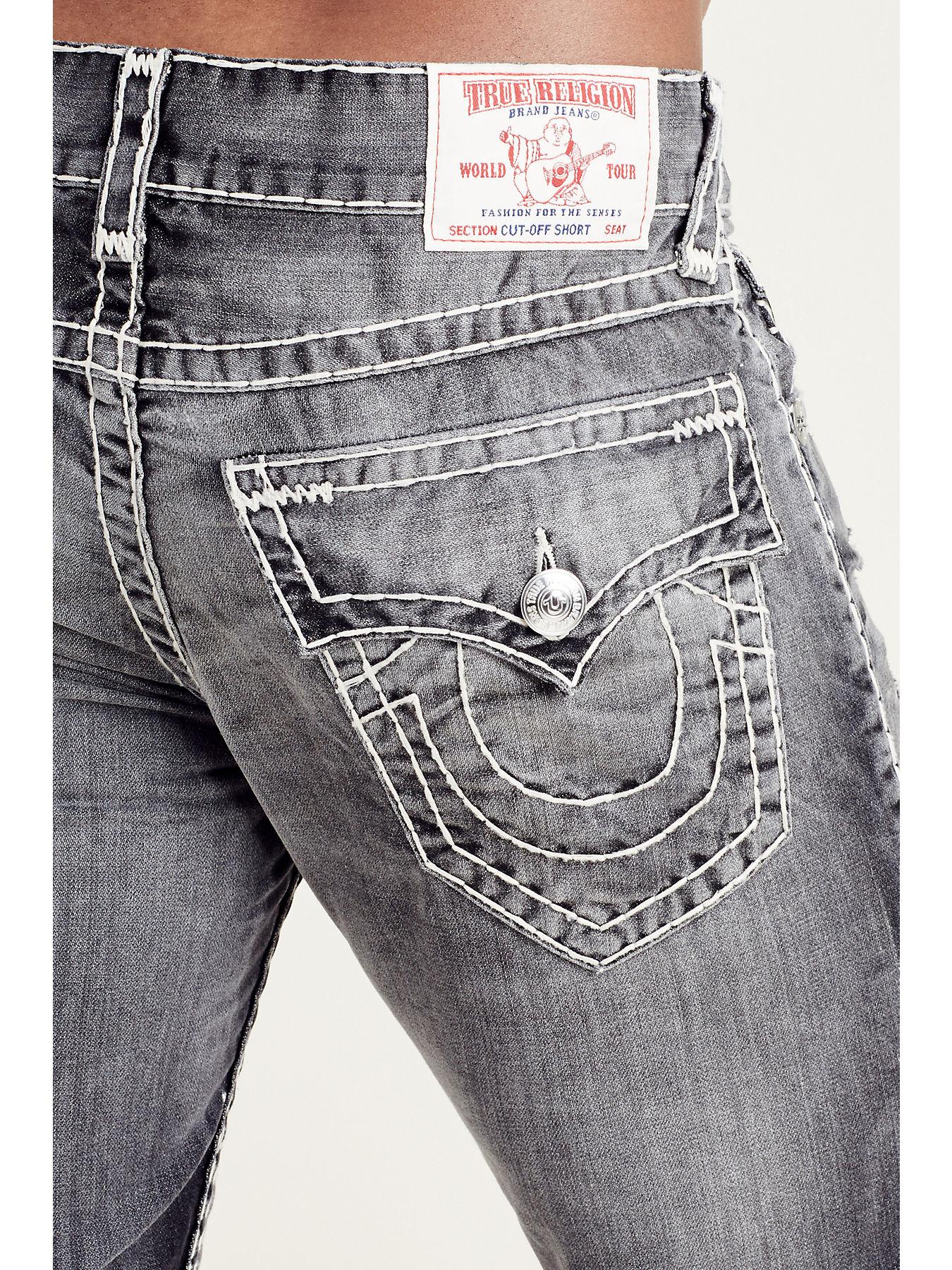 grey true religion jeans mens