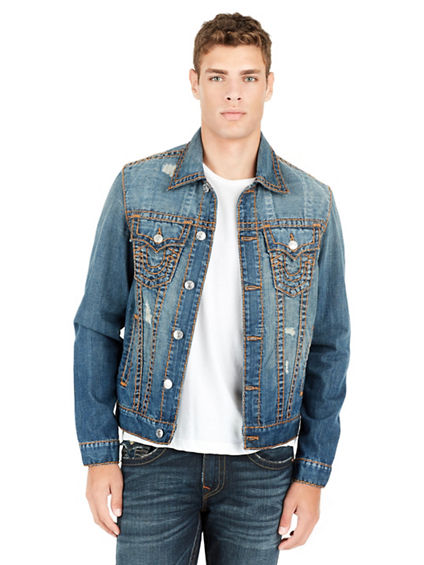 SUPER T MENS TRUCKER JACKET