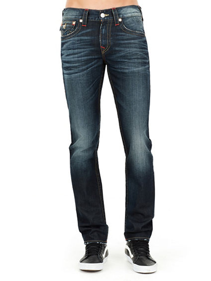 SKINNY FLAP SINGLE NEEDLE MENS JEAN